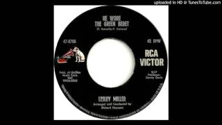 LESLEY MILLER: He Wore The Green Beret (RCA Records) 1966 -- Vietnam tribute