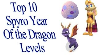 Top 10 Spyro Year of the Dragon Levels