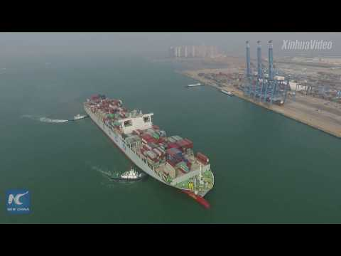 China tests 5G-based smart wharf in Qingdao