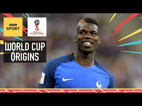 World Cup 2018: The making of France's Paul Pogba - World Cup Origins - BBC Sport
