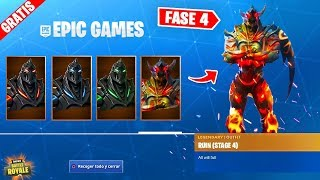 *NEW* 4 FREE SKIN RUIN PHASES in FORTNITE!! ✅ (Hidden Skin Phases Week 8)