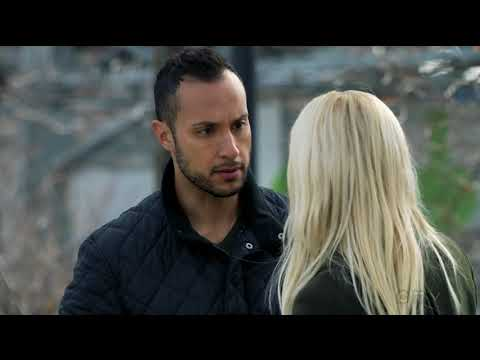 Nazir tries to kiss her 1   Shelby WyattJohanna Braddy  Quantico tv series