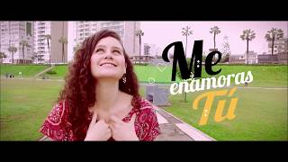 Deyvis Orosco - Me enamoras tú  ( Video Lyric OFICIAL )