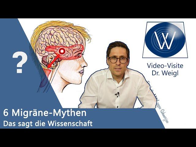 Migräne 📌 6 Typische Mythen und Vorurteile zu Ursachen, Behandlung & Medikamente ❗