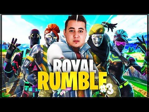 LES JOUEURS PROS S'AFFRONTENT ! ► ROYAL RUMBLE #3 thumbnail