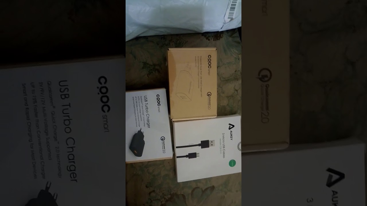 Crdc Smart Charger Pa T12 U28 Aukey Usb Cable Review Youtube Quick Charge 20 Turbo 18w Fastcharging