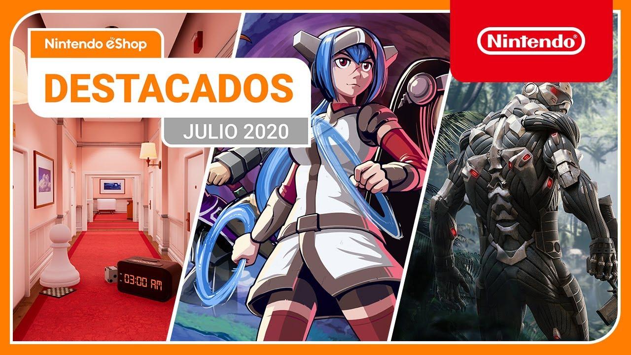 Destacados de Nintendo eShop: Julio de 2020