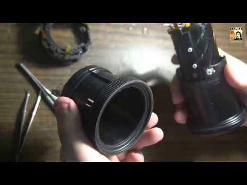 Ремонт объектива Canon EF-S 18-135 IS