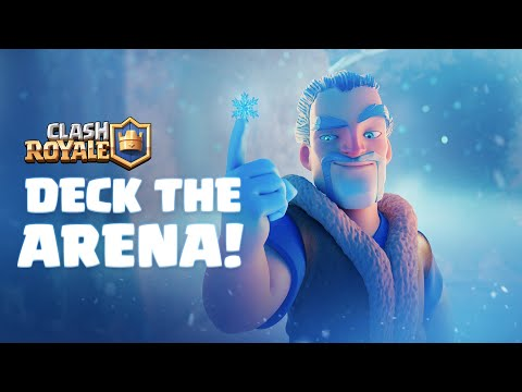 Clash Royale Animation ❄️ Deck The Arena!