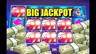BIG HANDPAY: lock it link piggy bankin bonuses and handpay!