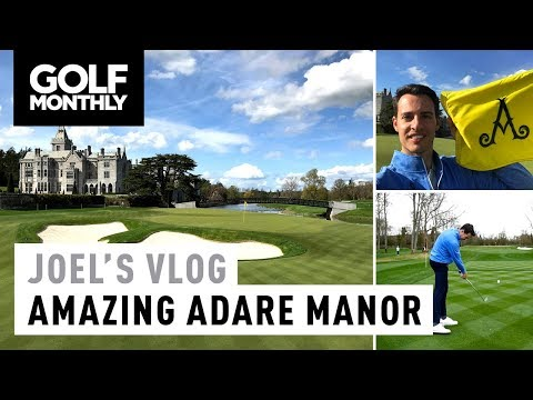 Joel's Vlog #10 | Adare Manor + New Course Record! | Golf Monthly