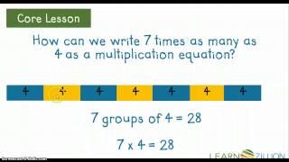 Multiplication as Comparison (# Sentences) M.4.OA.1.C