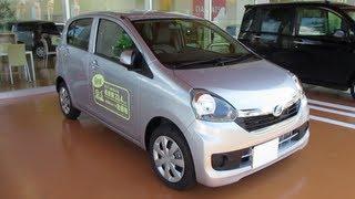 2013 New DAIHATSU Mira e:s(Smart Assist) - Exterior & Interior