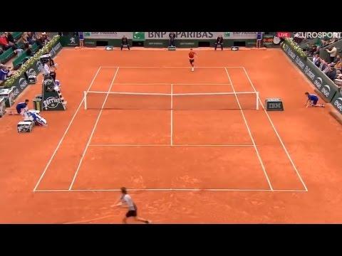 Novak Djokovic vs Dominic Thiem Highlights Roland Garros 2016 Semi Final (HD)
