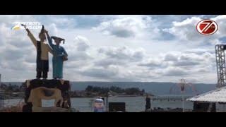 KUNKER Presiden Jokowi Meriahkan Panggung Apung di Danau Toba