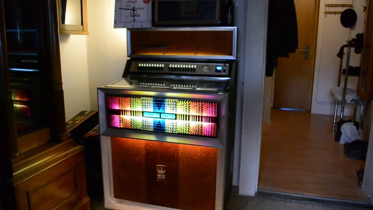 seeburg se100 jukebox youtube. Black Bedroom Furniture Sets. Home Design Ideas