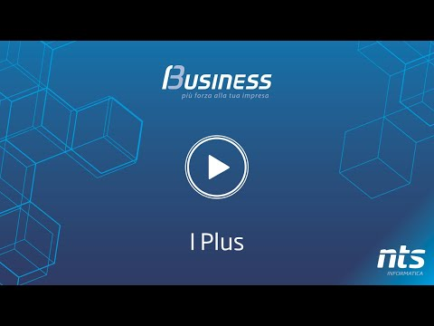 Business Cube - I Plus - NTS Informatica