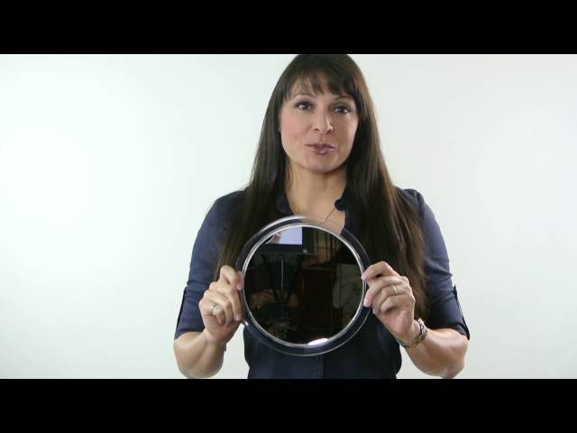 5X Magnification Mirror with Suction Cups