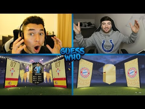 I DONT BELIEVE IT GUESS WHO FIFA vs HOMELESPENGUIN 🔥 GUESS WHO PACKS