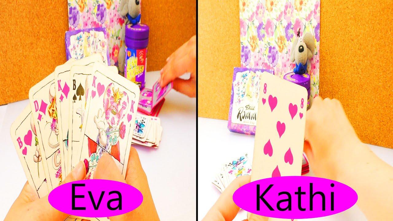 Diddl Maus Mau Mau Spiel Eva Kathi Spielen Karten Mit Der Diddl