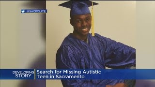 Search On For Missing Sacramento Teen With Autism