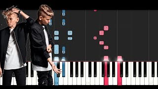 Marcus & Martinus - Like It Like It (Piano  Tutorial)