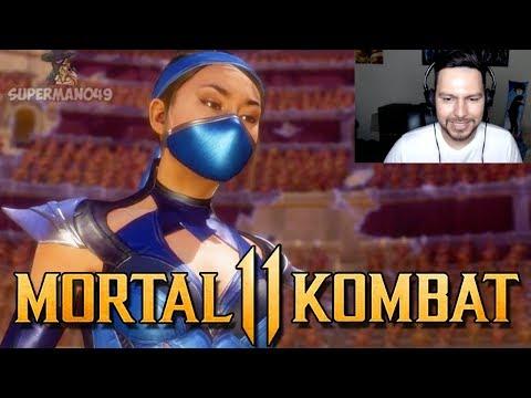 "The Birth Of KITANA KAHN! - Mortal Kombat 11: Story Mode ""Kitana"" (Chapter 7)"
