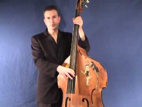 rockabilly slap bass lesson