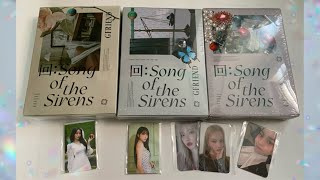 Baixar UNBOXING GFRIEND 回 : SONG OF THE SIRENS (all 3 versions)