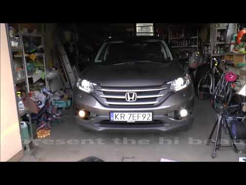 How to replace/change foglight bulb - Honda CR-V - LED, COB, CREE, Philips