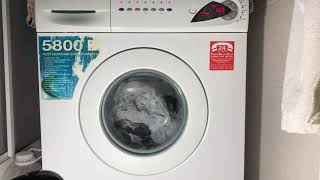 Arçelik 5800E cottons 55'C with fast wash option