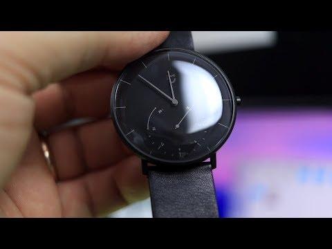 ОБЗОР Xiaomi Mijia Quartz Watch ► УМНЫЕ ЧАСЫ СЯОМИ с IP67!