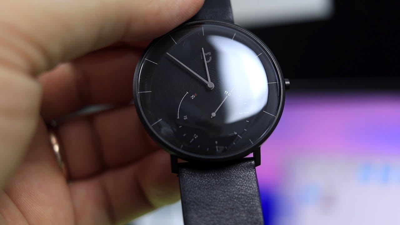 ec24ed28 ОБЗОР Xiaomi Mijia Quartz Watch ▻ УМНЫЕ ЧАСЫ СЯОМИ с IP67! - YouTube