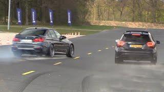 BMW M3 F80 vs Mercedes-AMG A45 4Matic vs Mclaren 720S MSO
