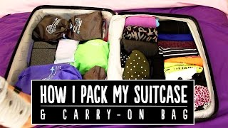 How I Pack My Suitcase & Carry-On Bag + OOTD | Pippopunkie
