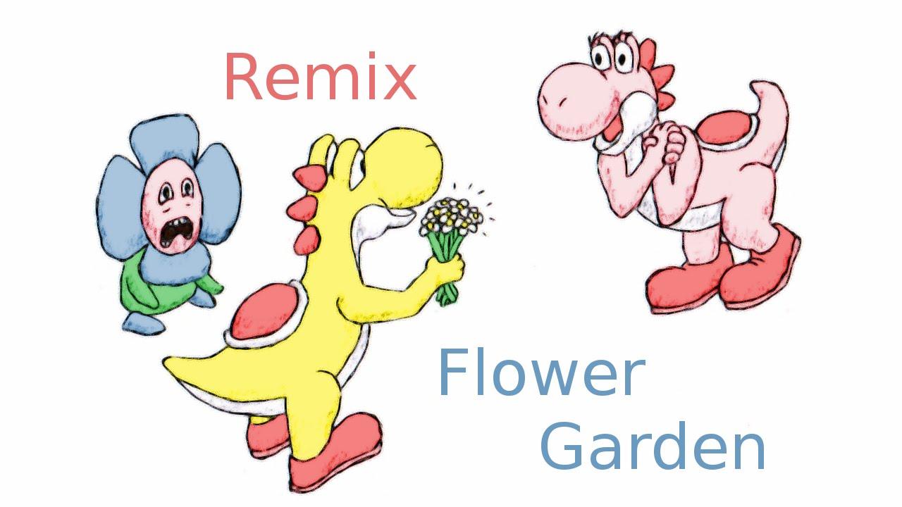 Flower Garden Super Mario World  Yoshi S Island