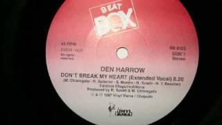 Dont Break My Heart (Beat Box Remix) - Den Harrow 1987 euro italo disco