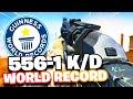 WORLD RECORD 556-1 GAMEPLAY In MODERN WARFARE! (WORLDS HIGHEST KD)