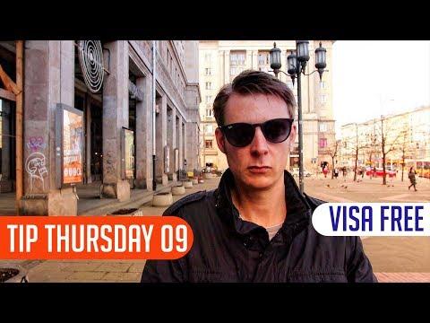 How to travel visa free to Belarus, Ukraine, Russia and Moldova