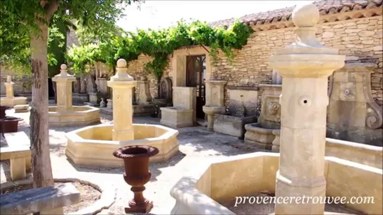 fabricant de fontaines de jardin en pierre naturelle youtube
