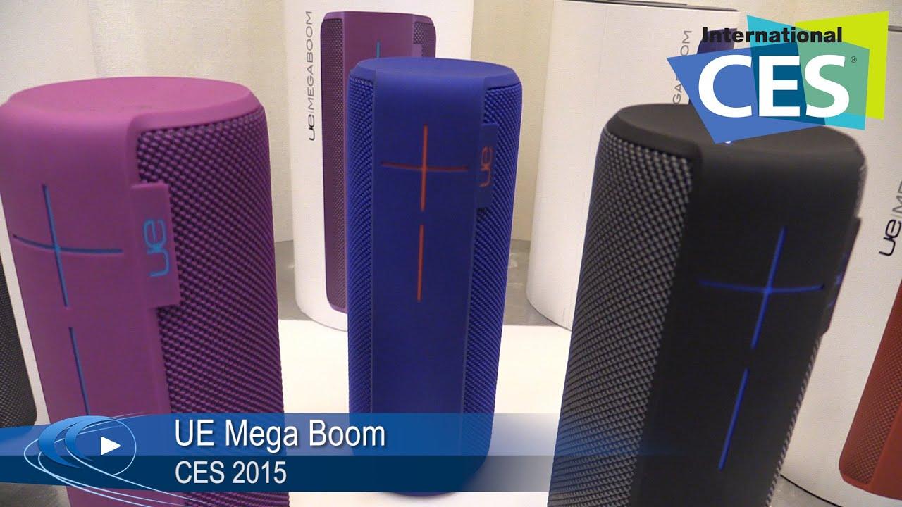 Ces 2015 Ultimate Ears Ue Mega Boom Bluetooth