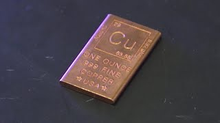 Using copper as an antimicrobial