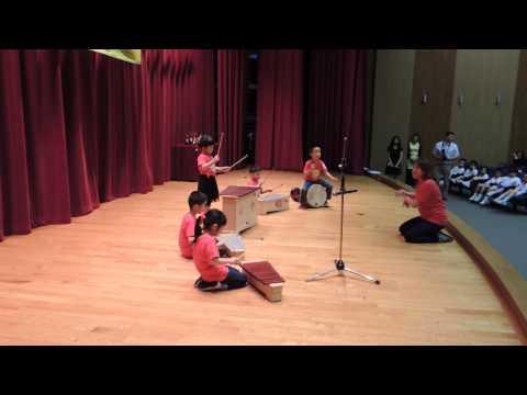 Sansa Kroma (Africa Song) ~~~ Presented by Hong Kong Children's Orff Band (Art Rhapsody)