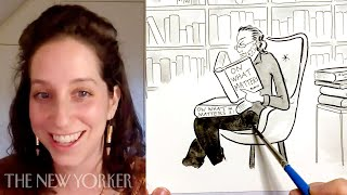 A New Yorker Cartoonist Explains How to Draw Literary Cartoons   The New Yorker