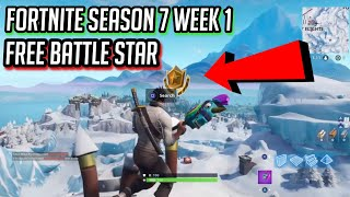 Fortnite Season 7 Week 1 Free Battle Star
