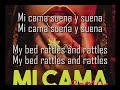 Mi Cama Remix Letra (English & Spanish)-Karol G, J Balvin, Nicky Jam (Inglés)