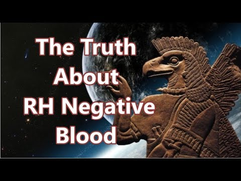 The Truth About People With RH Negative Blood - YouTube