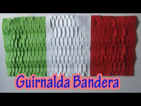 Manualidades: Decoración de Fiestas Patrias | Guirnalda bandera - Manualidades para todos