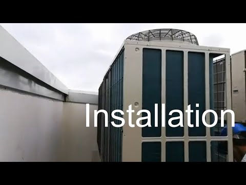 Installation VRF air conditioner | Mitsubishi Heavy | Testing and Commissioning
