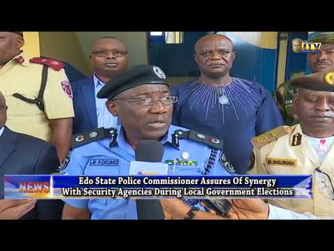 Edo LG polls: Police assures of synergy with security agencies